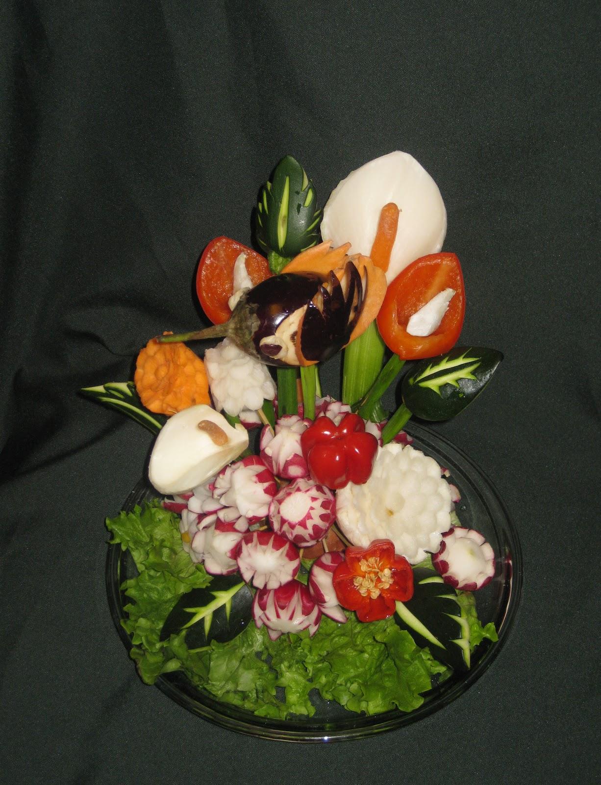 Fruit platter can say it edible fruit and vegetable arrangements