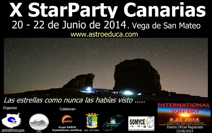 X Star Party Canarias