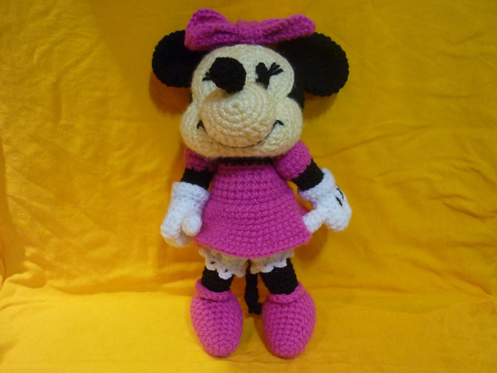 Amigurumi Disney Tutorial : Free Mickey Mouse Crochet Pattern Joy Studio Design ...
