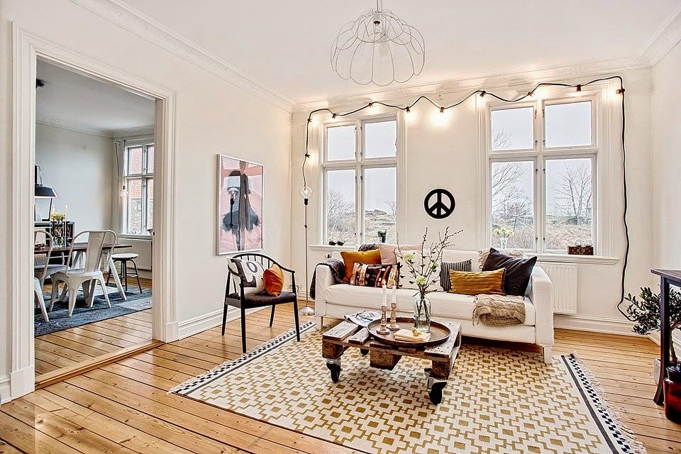Decoraci n f cil ideas para crear un apartamento estilo - Estilo nordico escandinavo ...