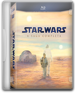 Download Star Wars: A Saga Completa - BluRay 720p Dual Áudio