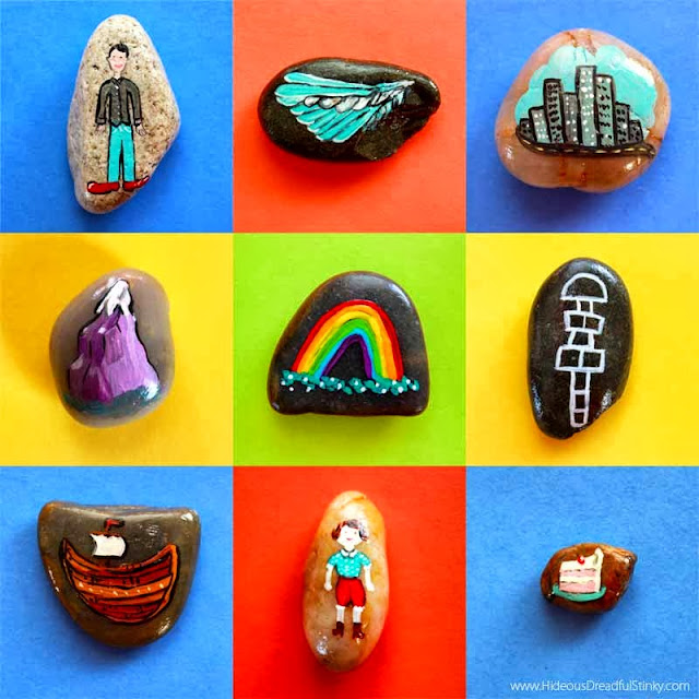 illustrated story stones
