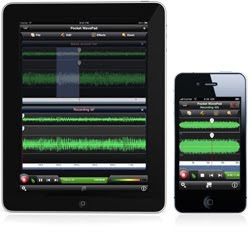 Pocket WavePad iPhone app and iPad app