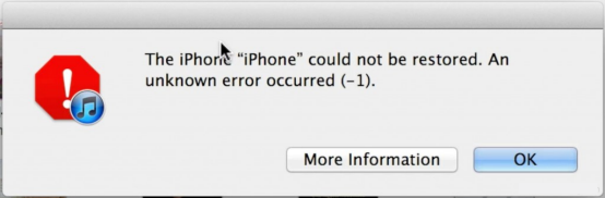 Error iPhone 1