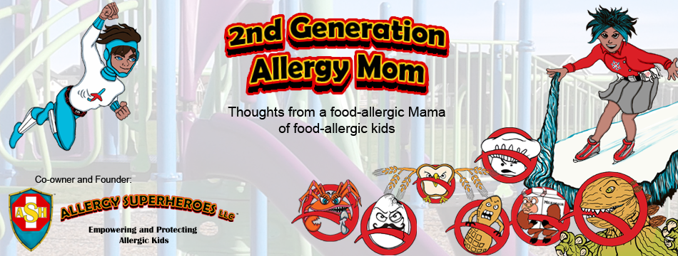 2nd Gen Allergy Mom, Allergy Superheroes