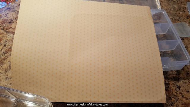 Adhesive Scrapbook Paper