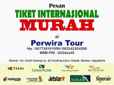 Agen Tiket Pesawat Internasional Terpercaya - Perwira Tour Yogyakarta