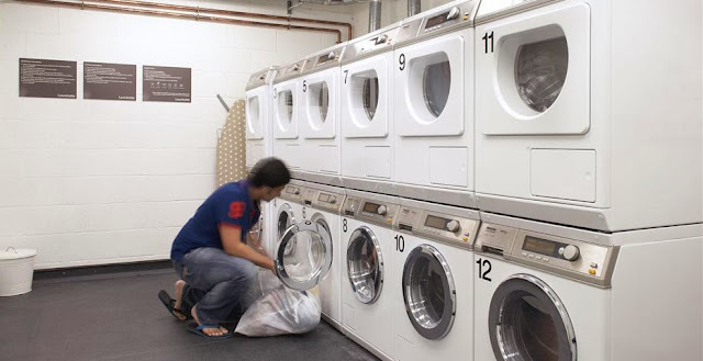 Laundry - convenient and inexpensive