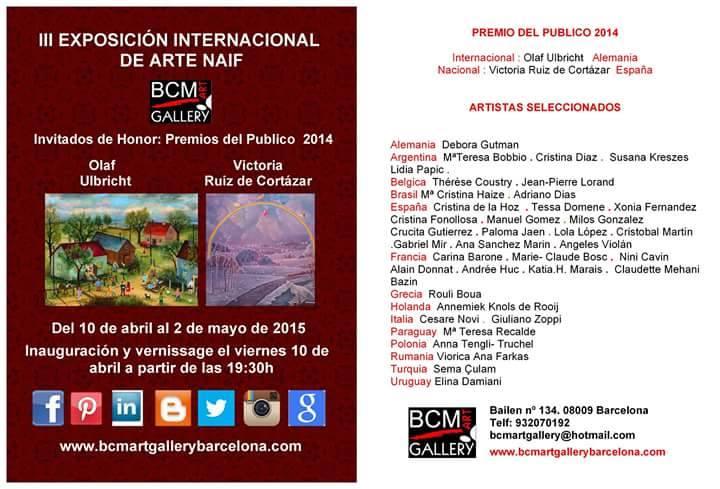 III Festival Internacional de Arte Naif - Barcelona