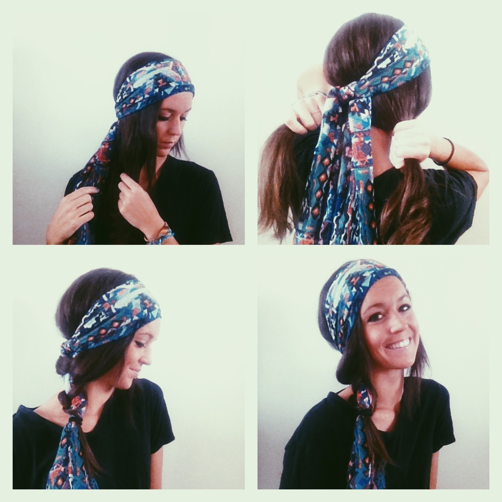 how to wear a scarf neck wrap