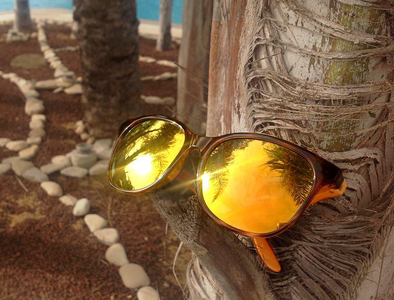 Gafas de sol carrera cristales amarillos