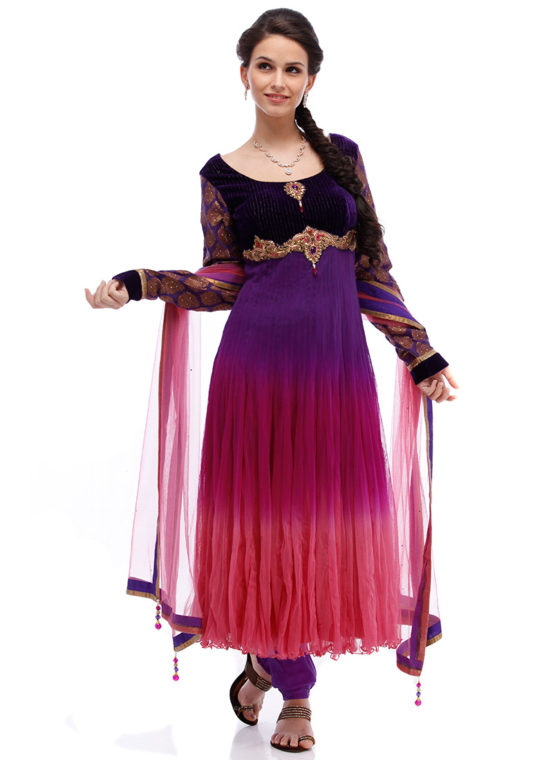 angel hot net anarkali suit