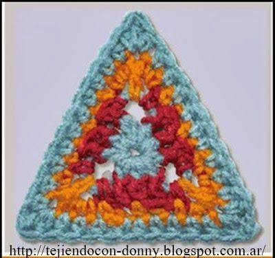 Triangulo a Crochet