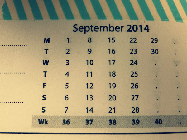 Why September is usually pretty cool...