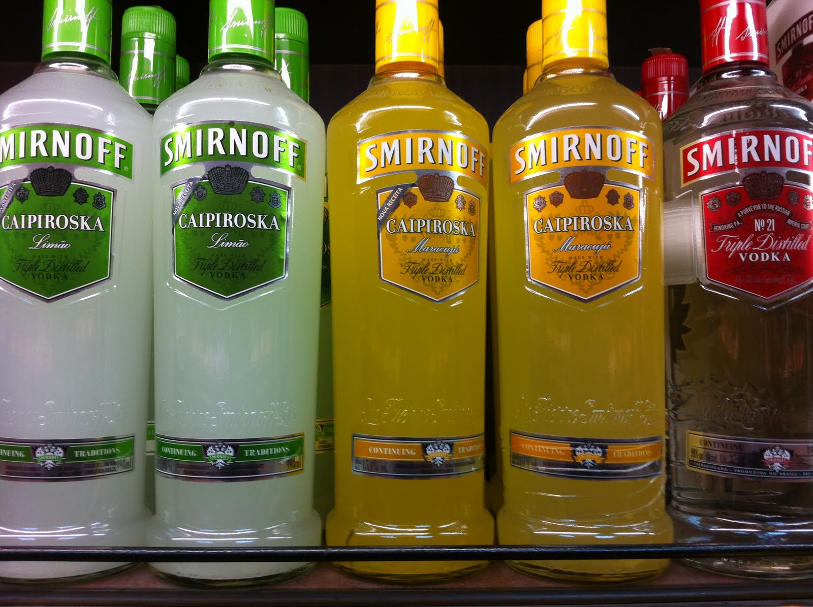smirnoff premixed cocktails