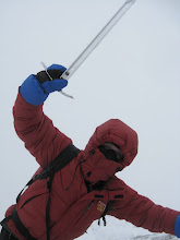 Ice Axe in Action