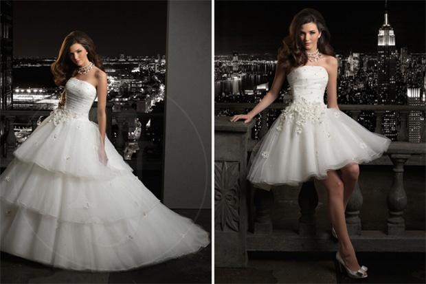 vestidos de novia para el baile nupcial