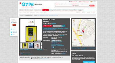 Una acción muy conveniente es subir una foto La página de Qype, podemos agregar algún comentario o publicar una noticia así como crear un Bono Descuento