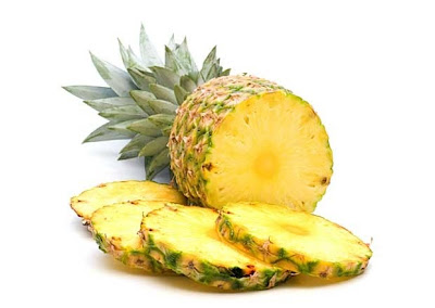 Pineapple facial mask