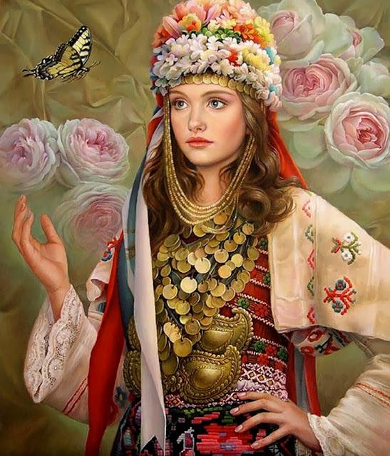 retratos-flores-al-oleo