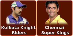 KKR Vs CSK on 20 April 2013