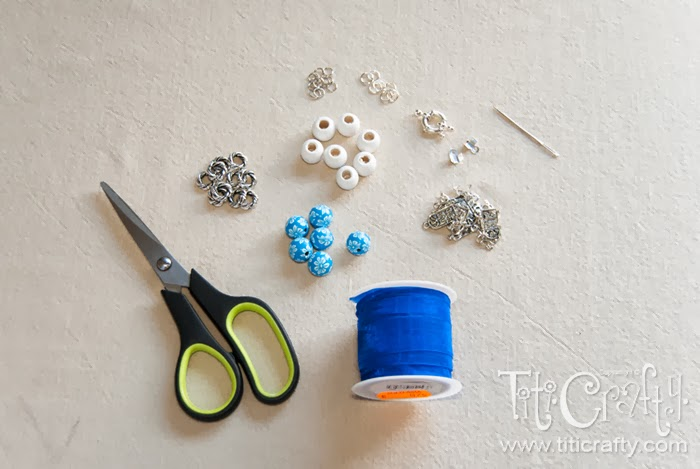 DIY Home Sweet Home Bracelet and Earrings