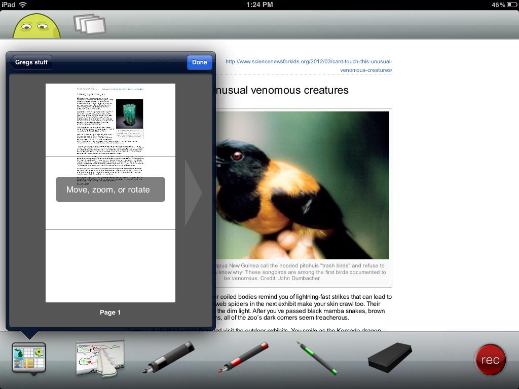ipad pdf rotate screen on apple tv