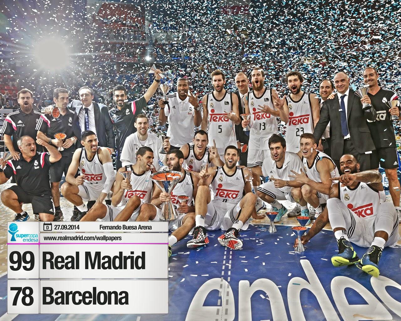 El Madrid de Baloncesto se corona nuevamente Campeón de la Supercopa Endesa.