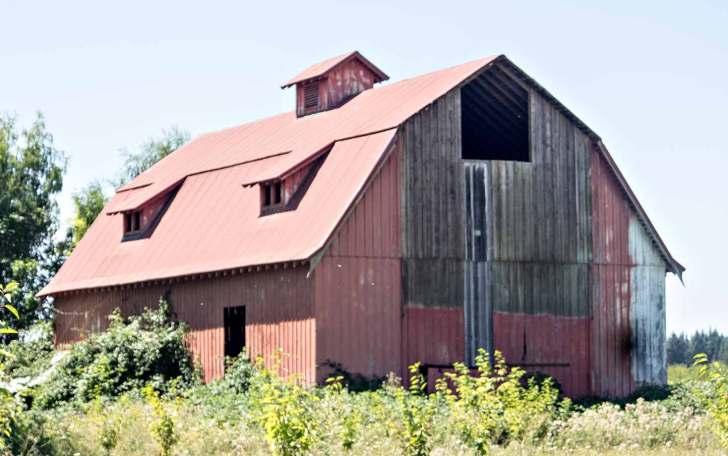 Lloyd S Blog Six Gambrel Roof Barns In Oregon