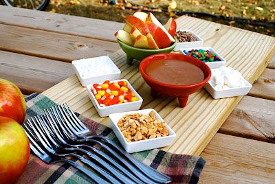 Homemade Caramel Apple Dip buffet party