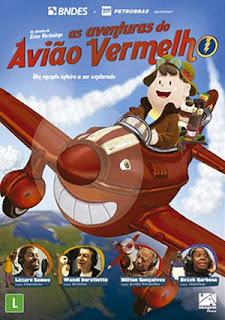 As Aventuras do Avião Vermelho - DVDRip Nacional
