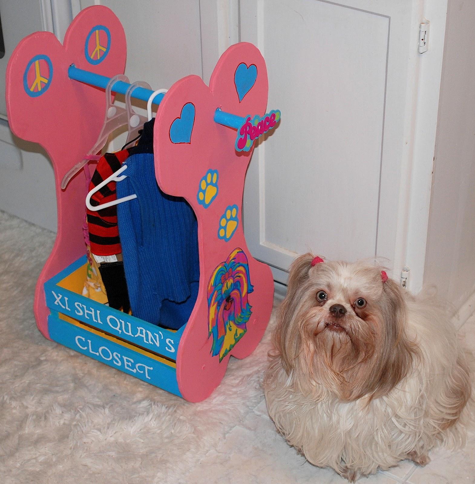 Exceptionnel Wooden Doggie Closet