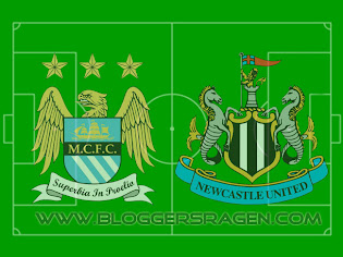 Pertandingan Manchester City vs Newcastle United
