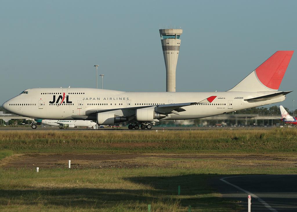 Brisbane Airport Movements Flashback Japan Airlines