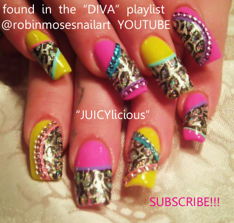 nail art trends, nicki minaj nails, diva nails, im sexay and i know ...