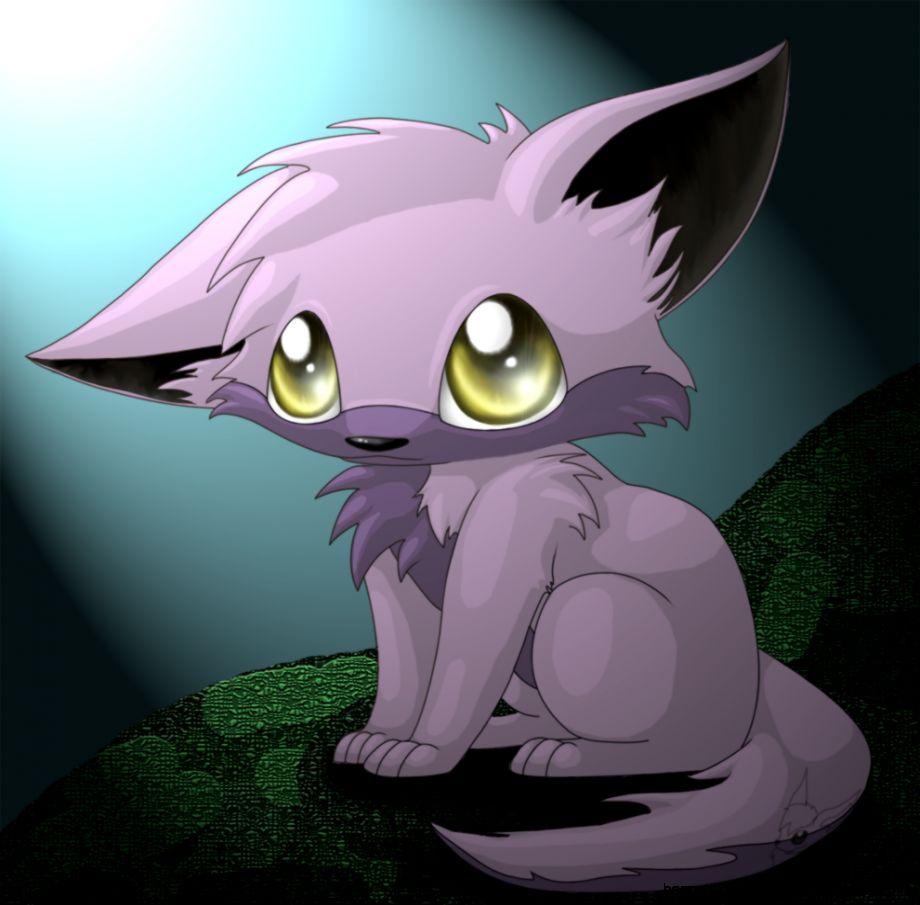 Cute Wolf Anime