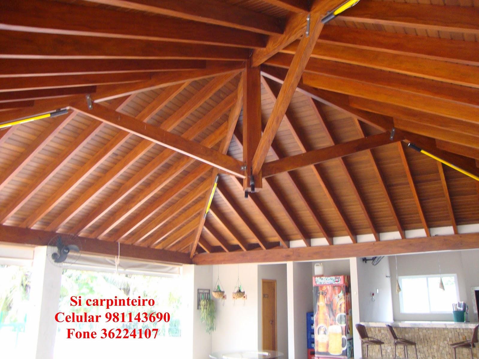 Extremamente Telhado 4 Quedas. Tipos De Madeira Para Telhado. Pequena Estrutura  NN03