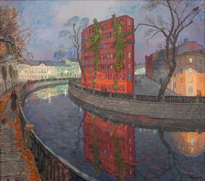 Ленинград Петербург в живописи Дзовинар Бекарян выставка 2015