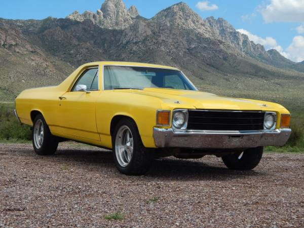1972 chevrolet el camino auto restorationice. Black Bedroom Furniture Sets. Home Design Ideas