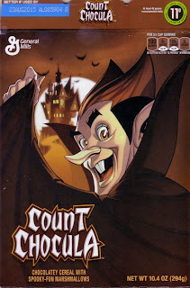 Front of Count Chocula 2014 box
