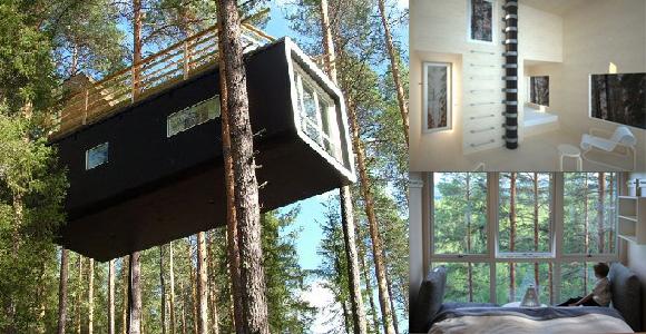 Download rumah pohon cube swedia rumah pohon cedar creek usa rumah
