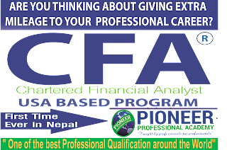 SPONSORED  | CFA AT PIONEER PROFESSIONAL  ACADEMY