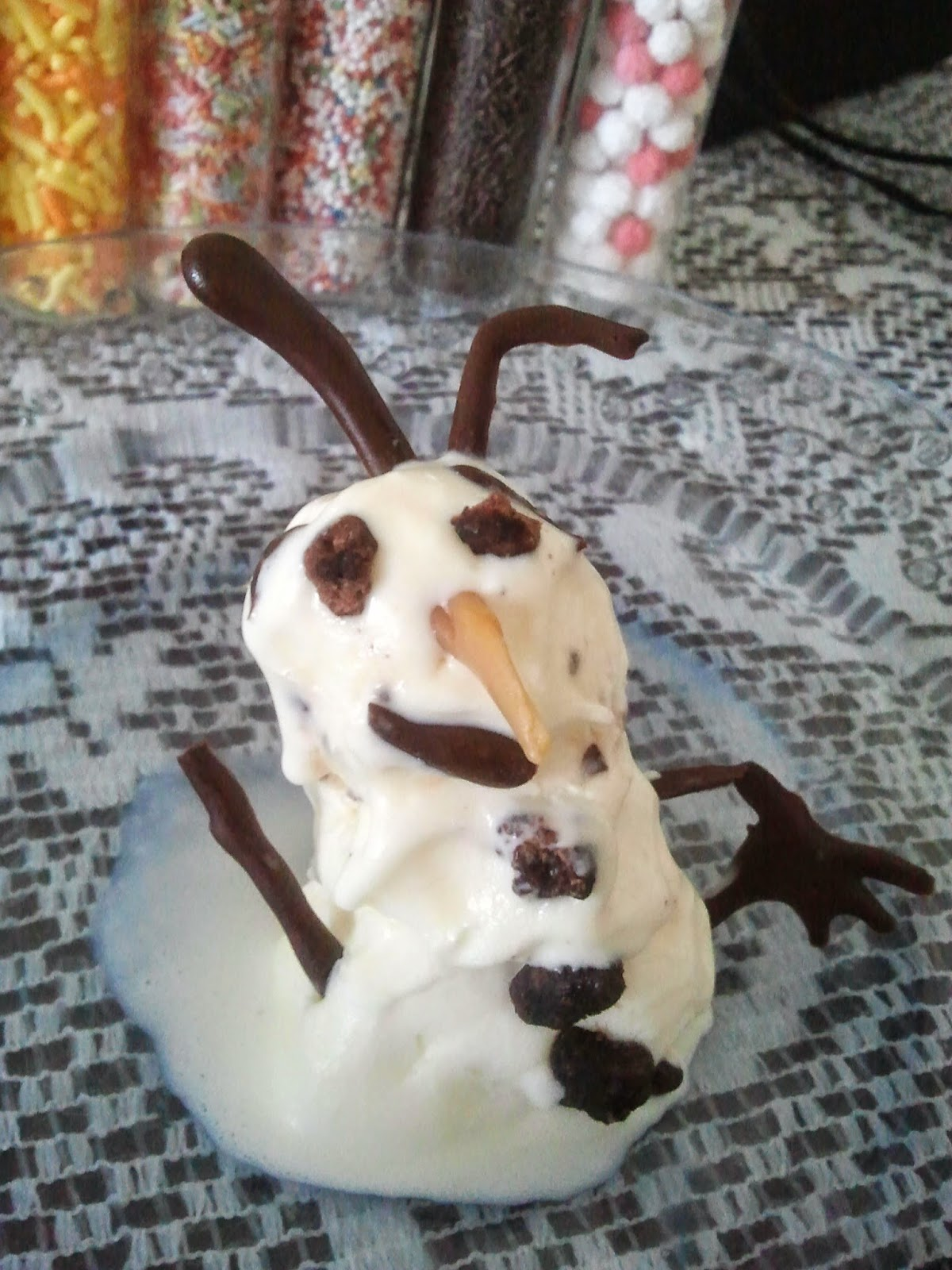 tried making Olaf