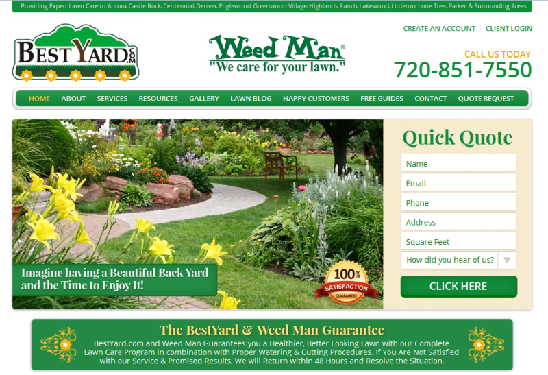 leading lawn care experts in Colorado