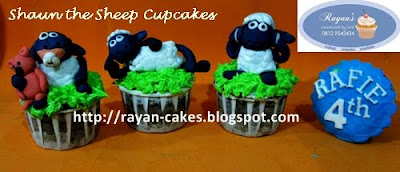 Rayan Cakes: Shaun The Sheep Cupcakes