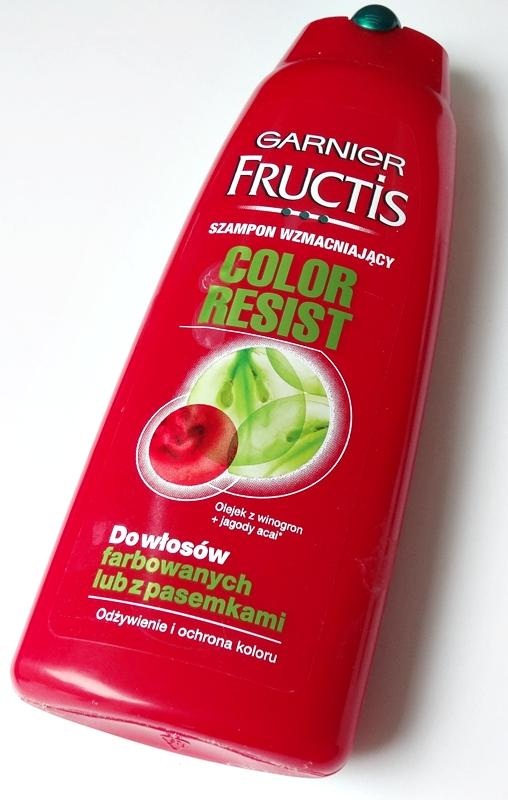 Szampon wzmacniający do włosów Garnier Fructis Color Resist