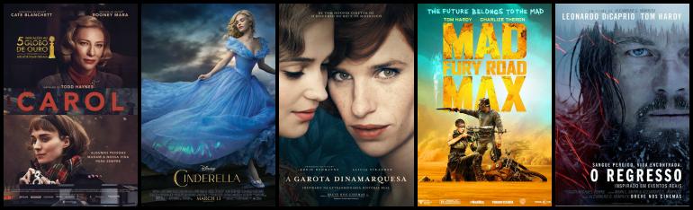 Os indicados ao Oscar 2016 de Melhor Figurino