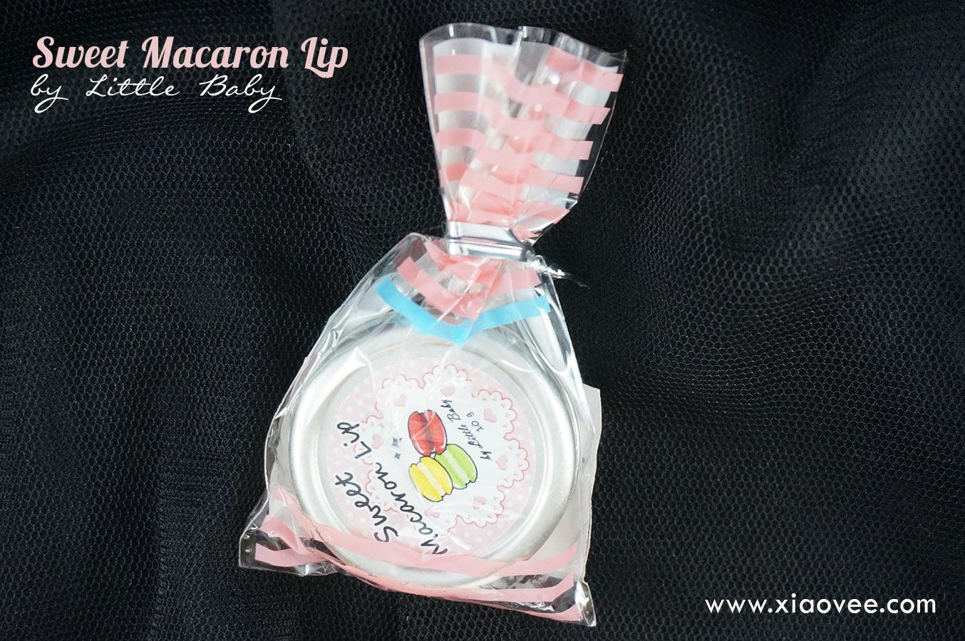 sweet macaron lip balm little baby