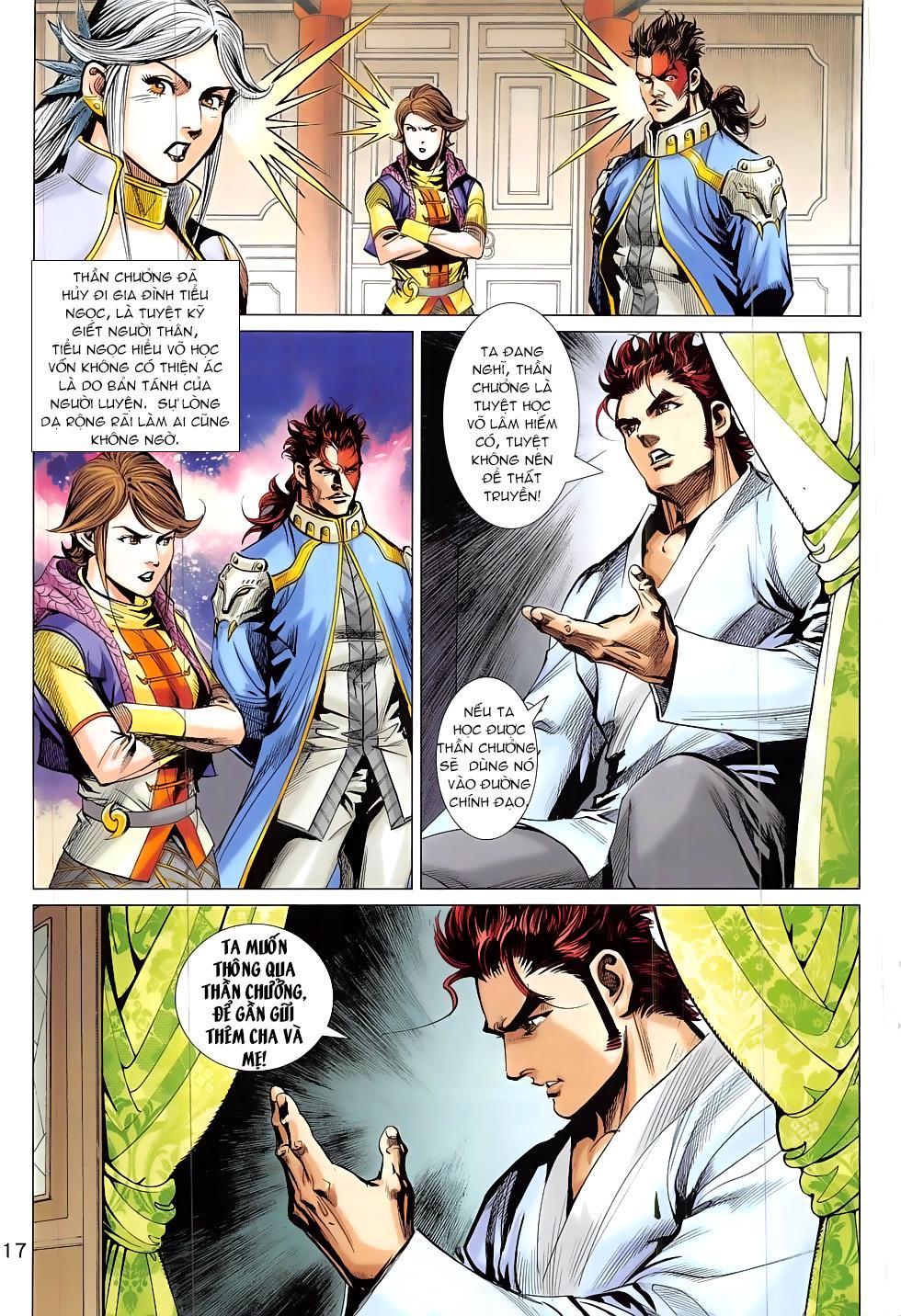 Thần Chưởng chap 24 – End Trang 17 - Mangak.info