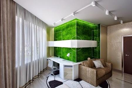 Contoh Design Interior Kamar Tidur Anak Laki-Laki